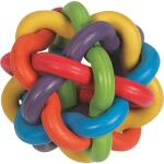 Speelbal Multicolor rubber Ø 9 cm