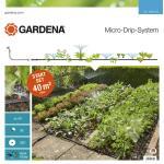 Starter set GARDENA voor bloembedden en moestuinen
