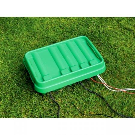 Stekkerbox waterproof medium groen
