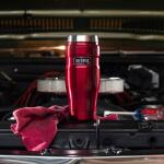 Thermos KING isoleerbeker rood - 470 ml