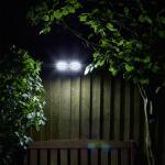 Tuinspot dubbel Security - 200 lumen