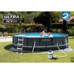 Rond Ultra XTR Frame zwembad compleet Intex Ø 488 x 122 cm