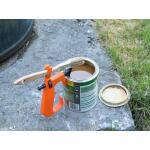 Handvat voor verfblik met kwasthouder - Hold paint