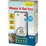 Ultrasone verjager Double Protect - muizen en ratten 80 m²