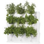 Plantbakken verticale tuin wit - modulair