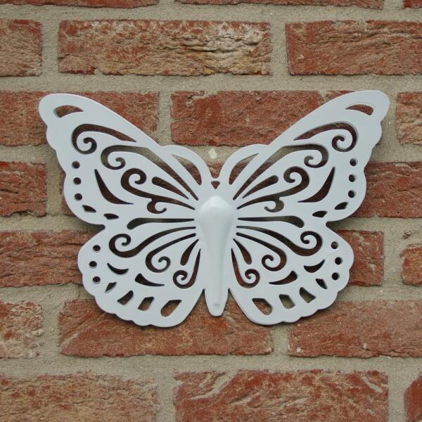 muurdecoratie vlinder vlinder in verschillende kleuren