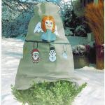 Vorst beschermhoes 120 x 125 cm - kerstmis