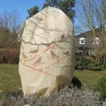 Plantenbeschermhoes 120 x 180 cm vogelprint