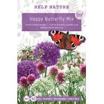 Tas vlindermix - Happy butterfly