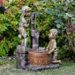Waterpomp fontain ornament - solar
