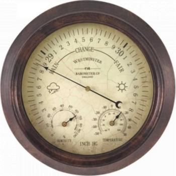 Thermo- en barometer Westminster