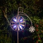 Windspinner Fiets solar - tuinprikker 150 cm