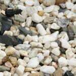 Wit grind 8/16 - 16/32 - 30/60 in big bag ca. 0,7 m³