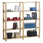 Woody rack heavy duty hout - 175 x 175 x 40 cm